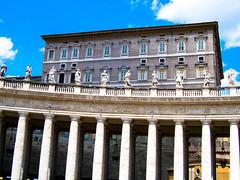 Pope's Apartments, Rome (Andy Hay) Tags: summer italy vatican rome roma holidays lazio 2007 lightroom vaticancity