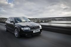 A4 Avant (Luke Mochan) Tags: road bridge sky black car clouds scotland nikon dundee tay german roller rollers a4 audi avant rolling vag b6 d7000