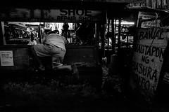 Bagong Ilog, Pasig City (Johann Fredrik Nery) Tags: street city urban blackandwhite monochrome photography weird fuji metro philippines manila faceless fujifilm awkward fredrik johann position pasig bagong nery ilog caudal 14mm xt1 xpph xpphmla fujfilmph xpphmanila project14mm