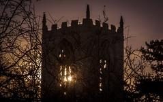 Church Sunset (deltic17) Tags: sunset night evening dusk