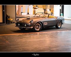 Ferrari 250 gt california (NiCo' ( vip2pak ) - Nicolas TARIQ) Tags: show old paris cars grey italian collection nicolas million salon motor gto rare tariq 250 15m 2015 retromobile ferrari250gtcalifornia