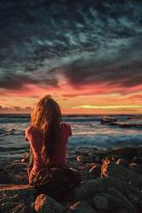 Sunset (sergio.rios114) Tags: sunset sun sol de puerto valparaiso muelle sony playa puesta ocaso a7 baron principal valpo a7r