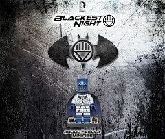 Blackest Night Batman [DC] [OLS] [CUSTOM] [CONTEST] (agoodfella minifigs) Tags: dc batman custom ols