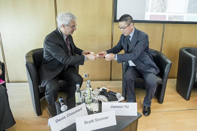 Scott Streiner networks with Jianmin Yu