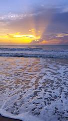 Another... 'Sun on the Beach' sunrise. (spacecoastsurfer) Tags: ocean beach sunrise florida harbour indian samsung wave s6