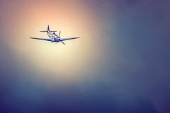 Yakovlev Yak-3 (Pixelicus) Tags: sky colors clouds plane airplane nikon aircraft air meeting nuage avion arien fertalais d700