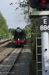 CJM_3230 (cjmillsnun@btinternet.com) Tags: heritage trains hampshire steam locomotive flyingscotsman steamlocomotive romsey nikond7000