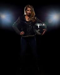 Olivia 0521 (TNrick) Tags: portrait woman tennessee helmet motorcycle sevierville