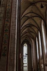 Sdliches Seitenschiff (S_Artur_M) Tags: city travel church germany deutschland norden marienkirche lbeck hansestadt stmarien backsteingotik schleswigholsteiein