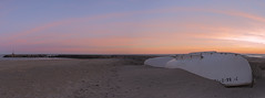 Keep calm (Jose Gimenez Fotografa) Tags: travel sunset sky panorama orange sun seascape nature del landscape coast landscapes boat mar paisaje panoramic coastline catalunya sitges aire libre nationalgeographic orilla catalunyaexperience natgeophotos onlythebestofnature