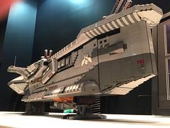 Hiigaran Destroyer (aaron.fiskum) Tags: ship lego space destroyer spaceship homeworld moc hiigaran