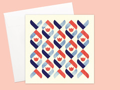 Dutch Tulip Greeting card or greeting card set (Kata Kiosk) Tags: flowers blue red geometric floral shop illustration writing paper print cards design pattern mail tulips handmade letters arts snail artsy etsy crafty stationery greeting stationary snailmail penpal paperie penpalling snailmailer