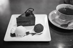 20160417-01 (GenJapan1986) Tags: blackandwhite food film cake japan cafe sweets  miyagi   ilfordhp5plus 2016      nikonnewfm2 lacouronnedor