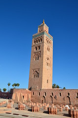 marrakech (kaotaru) Tags: city red rouge photography la nikon place mosque morocco maroc marrakech ville moroccan koutoubia mosque  the  marocaine     d7000 kutubiyya