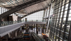 Hamad International Airport, Doha, Qatar (maxunterwegs) Tags: aeroporto aeropuerto airport architecture archtitekur aroport catar doh doha flughafen hamadinternationalairport katar qatar terminal