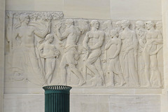 Louisiana State Capitol (Flagman00) Tags: sculpture detail building monument architecture louisiana state outdoor relief capitol batonrouge artdeco allegory