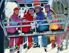 suits on the lift1 (skisuitguy) Tags: snow ski suit snowsuit skisuit