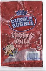 Double Bubble Cherry Cola Gum (itsr13) Tags: gum cherry candy cola bubblegum cherrycola doublebubble
