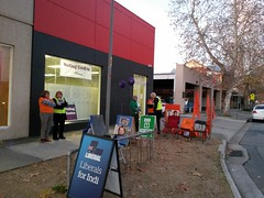 20160614_171320 (heritagefutures) Tags: street for election australian nsw swift federal voting indi albury 2016 farrer prepoll electorates