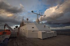 Surrounded by Clouds (MrBlackSun) Tags: sunset clouds nikon pacific dusk pacificocean png papuanewguinea papua d810 nikond810