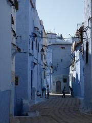P4118077 (bartlebooth) Tags: africa blue northafrica muslim islam unesco morocco maroc medina chaouen chefchaouen marruecos worldheritage rif maruecos