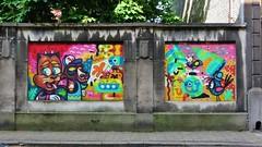 Bu, Billy & Alex, Mernywernz / Dainsestraat - 26 mei 2016 (Ferdinand 'Ferre' Feys) Tags: streetart graffiti belgium belgique bue belgi urbanart graff ghent gent gand graffitiart artdelarue bu urbanarte billyalex mernywernz buthewarrior