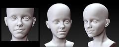 WIP (Sleep Owl) Tags: wip headsculpt owlsmoor minimeebyowl