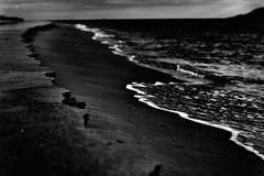 Low Sounds By the Shore (Eugenios X.) Tags: blackandwhite seascape low shore sounds poros nx300