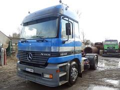 MB Actros 1840 (Vehicle Tim) Tags: truck mercedes mb fahrzeug lkw actros szm sattelzugmaschine