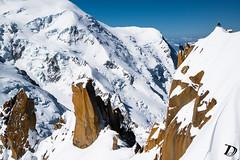 Cosmique ridge reverse mode DeschampsDamien (Damien DESCHAMPS) Tags: ski mountains alps playground rock landscape skiing earth adventure ridge explore climbing chamonix steep