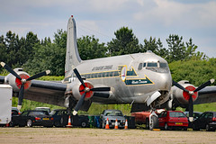 N44914 (GH@BHD) Tags: vintage aircraft aviation military transport piston douglas usaf transporter unitedstatesairforce dc4 c54 propliner n44914 historicaircraft c54d