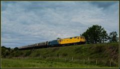 Diesel Double. (Rob-33) Tags: riflerange svr severnvalleyrailway bewdley diesellocomotive tamron2875mmf28 dieselgala 73952 33035 preserveddiesellocomotive pentaxk3 janiskong