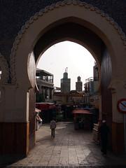 Fes El Bali Morocco-Median-Bab Boujloud.2-2016 (Julia Kostecka) Tags: morocco medina fes bluegate feselbali babboujloud