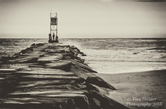 Breaking Waters (tsteiner61904) Tags: jetty atlantic ocean indian river inlet dewey beach delaware waters scenic photoshop elements canon eos 70d fishing