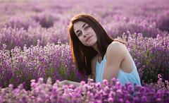 (Denitsa D.) Tags: portrait nature girl beautiful lavender