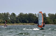 Not Bad Speed (kaprysnamorela) Tags: lake toronto ontario canada water nikon sail windsurfing twc cherrybeach nikond3300