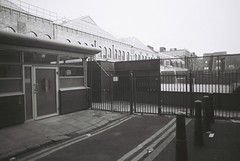 Lolesworth Close (goodfella2459) Tags: street white house black london history film analog 35mm lens jack nikon elizabeth close lodging crime plus 24mm af nikkor whitechapel milf ilford fp4 f4 ripper 125 stride f28d floweranddean lolesworth