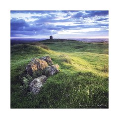 Burton Dassett Sunset (ben_wtrs79) Tags: sunset olympus hills 28 warwickshire burton omd dassett em1 1240