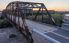 Gila River Bridge (Pyrat Wesly) Tags: historic arizona canon tamron2875mmf28 6d arlington dam bridge gilariver