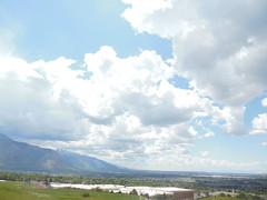 Nikon view (denebola2025) Tags: nikon s6300 pleasant view utah north ogden summer landscape cloud porn clouds lds mormon nature