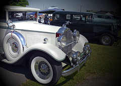 1930 Packard 4-door hot rod (SteveMather) Tags: door ohio white hot four medina rod nationals packard 1930 2016 restomod 4door pre1949 restorod vsra vintagestreetroddersofamerica
