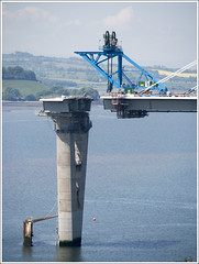 QF South Lift (The Anti-Sharpness League) Tags: jadmor olympus queensferry crossing forth road bridge fife scotland
