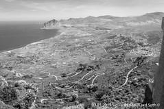 Erice (Lord Seth) Tags: 2015 d5000 erice landscape lordseth paesaggio sicilia bw biancoenero borgo castellodivenere italy medievale monteerice nikon panorama
