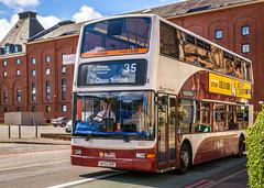 DSC-2300 LR (willielove754) Tags: lothianbuses 652 plaxtonpresident dennistrident2 sk52ohp