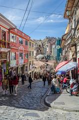 Centro histrico de La Paz (Andrs Photos 2) Tags: streets bolivia ciudad lapaz calles altiplano sudamerica elalto lasbrujas