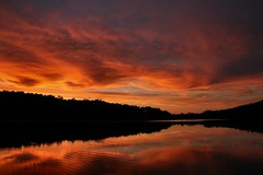 Sunset_053016 (Eric C. Reuter) Tags: sunset ny nature scenery may hancock catskills 2016 somersetlake 053016