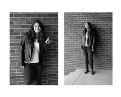 Portrait of a girl (Becky Fisco) Tags: portrait blackandwhite nature portfolio