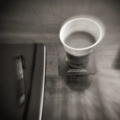 Java Dreams (Tom Frundle) Tags: life bw coffee java office nashville pinhole today 2016 iphoneography iphone6 iphoneonly hipstamatic hipstaconnect iphonesixplus pinholepack aristotlefilm pennylens