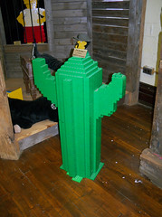 OH Bellaire - Toy & Plastic Brick Museum 98 (scottamus) Tags: ohio cactus sculpture statue lego display exhibit roadside bellaire attraction belmontcounty toyplasticbrickmuseum