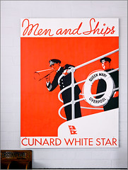 photo - Queen Mary advert (Jassy-50) Tags: california sign advertising poster hotel boat photo ship queenmary longbeach artdeco cunard cruiseline rmsqueenmary cunardwhitestar queenmaryhotel queenmaryhotelmuseum